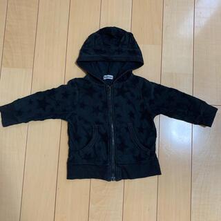 子供服ジップパーカー 80cm(ジャケット/コート)