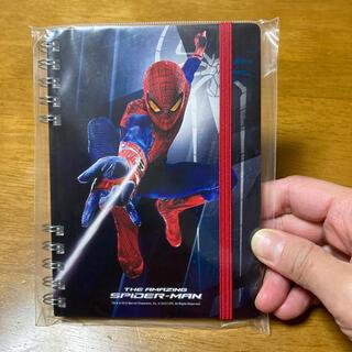 マーベル(MARVEL)のスパイダーマン A6リングノート(ノート/メモ帳/ふせん)