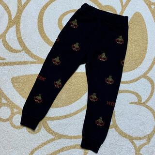 HYSTERIC MINI - 刺繍 ブラック パンツ