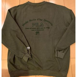 フィラ(FILA)のFILA クルーネック スウェット(スウェット)