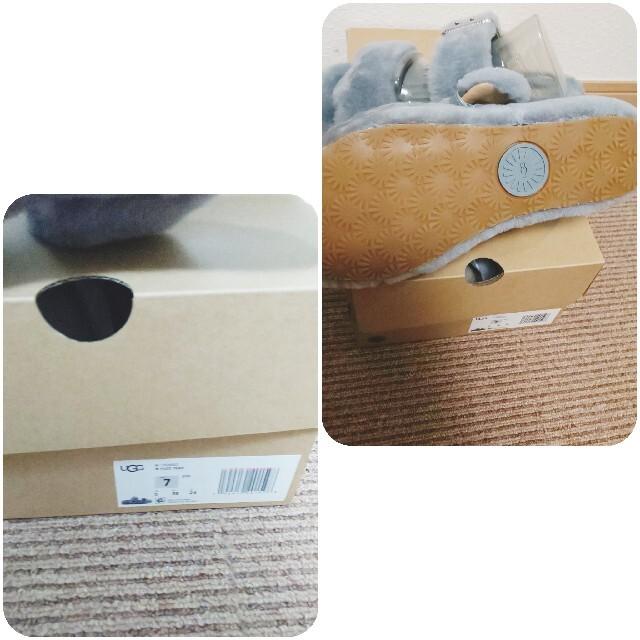 UGG(アグ)の新品 限定1点 UGG サンダル ムートン WOMENS FUZZ YEAH  レディースの靴/シューズ(サンダル)の商品写真