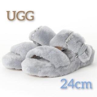 UGG - 新品 限定1点 UGG サンダル ムートン WOMENS FUZZ YEAH