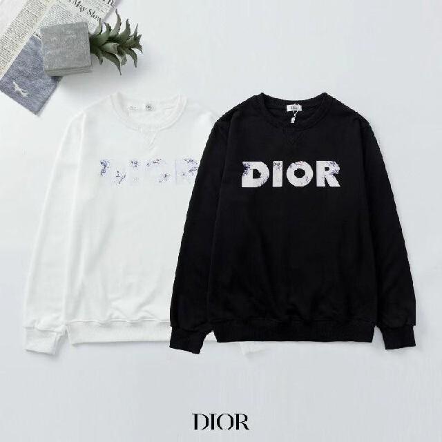 Dior(ディオール)の✨\2枚12000/ディオールDIOR長袖トレーナースウェット レディースのトップス(トレーナー/スウェット)の商品写真