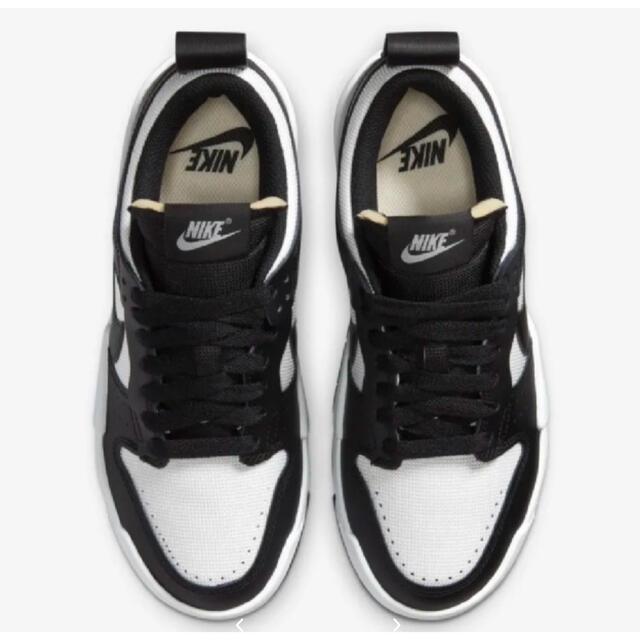 NIKE(ナイキ)の29cm NIKE WDUNKLOW DISRUPT ブラック レディースの靴/シューズ(スニーカー)の商品写真
