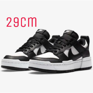 NIKE - 29cm NIKE W DUNK LOW DISRUPT ブラック
