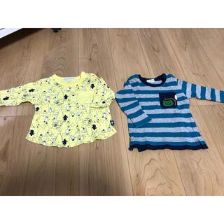 サンカンシオン(3can4on)の長袖Tシャツ 2枚セット(Tシャツ)
