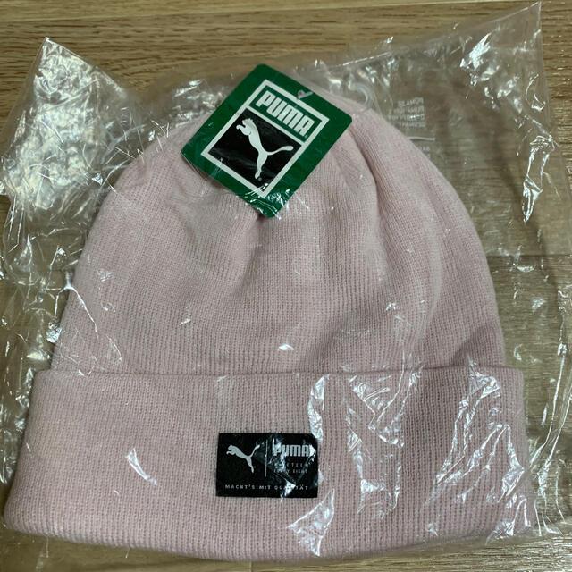 PUMA(プーマ)のプーマ ニット帽 新品未使用 スポーツ/アウトドアのゴルフ(その他)の商品写真