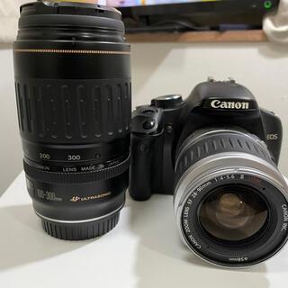 Canon - canon デジタル一眼レフカメラ eos kiss X2 レンズキット 中古