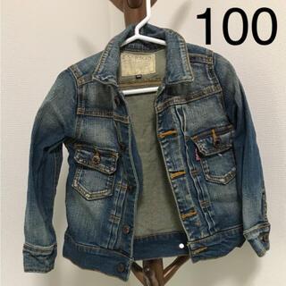 エフオーキッズ(F.O.KIDS)のデニムジャケット Gジャン 100cm FOキッズ(ジャケット/上着)