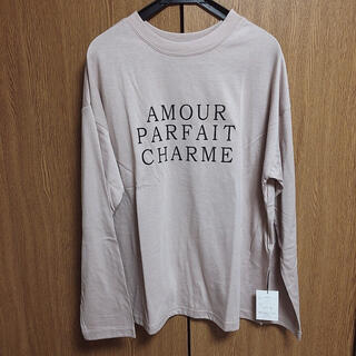 グレイル(GRL)の《新品》ロゴTシャツ (Tシャツ/カットソー(七分/長袖))