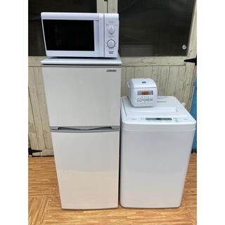 Panasonic - 一人暮らし お得セット 冷蔵庫 洗濯機 電子レンジ 炊飯器