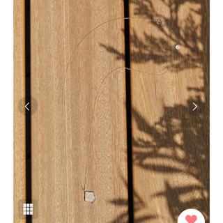 ハリオ(HARIO)のHARIO lampwork factory ネックレス 半額★新品箱紙袋付き(ネックレス)