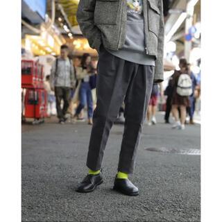 COMOLI - neat パンツ グレー モールスキン