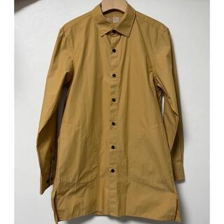 MUJI (無印良品) - 無印良品 オーガニックコットンブロードロングシャツ