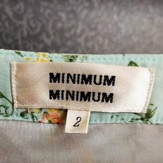 ミニマム(MINIMUM)のMINIMUM MINIMUM ワンピース Mサイズ ワールド(ひざ丈ワンピース)