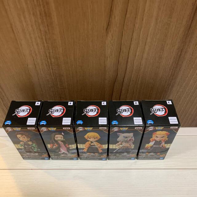 BANDAI(バンダイ)の鬼滅の刃 ワーコレ 全5種セット エンタメ/ホビーのフィギュア(アニメ/ゲーム)の商品写真