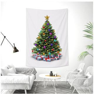 クリスマスツリー タペストリー クリスマス インテリア インスタ映え パーティー