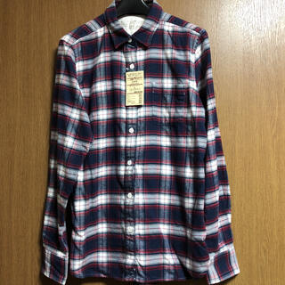 MUJI (無印良品) - 新品!無印良品 フランネル チェックシャツ