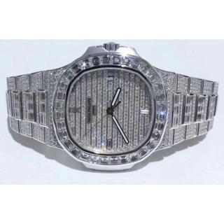 パテックフィリップ(PATEK PHILIPPE)のパテックフィリップ ノーチラス 5711 18KWG フルダイヤ 確認用(腕時計(アナログ))