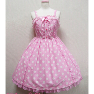 Angelic Pretty - Angelic pretty dot ジャンパースカート