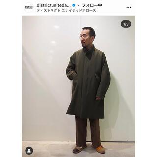 sacai - 新古19AW overcoat 大丸製作所 コート graphpaper コモリ