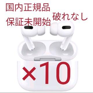 アップル(Apple)のapple airpods pro MWP22J/A 国内正規品 エアポッズ(ヘッドフォン/イヤフォン)