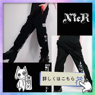 激安【NieR】5ポケットカーゴパンツ★