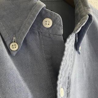 GYMPHLEX - Gymphlex ジムフレックス オックスフォード ボタンダウンシャツ Lサイズ