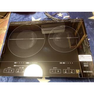 アイリスオーヤマ(アイリスオーヤマ)のIHC-WKG2 本体と設置スタンドのセット IHクッキングヒーター(IHレンジ)