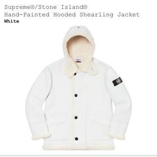 シュプリーム(Supreme)のSupreme Stone Island(レザージャケット)