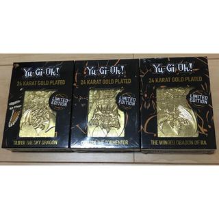 ユウギオウ(遊戯王)の遊戯王 三幻神 金属製カード 5000個限定(その他)