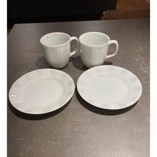 コムサイズム(COMME CA ISM)のCOMME CA ISM  コーヒーカップソーサーセット(グラス/カップ)