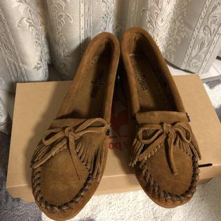 ミネトンカ(Minnetonka)のくうさま専用、ミネトンカ モカシン パンプス(ローファー/革靴)