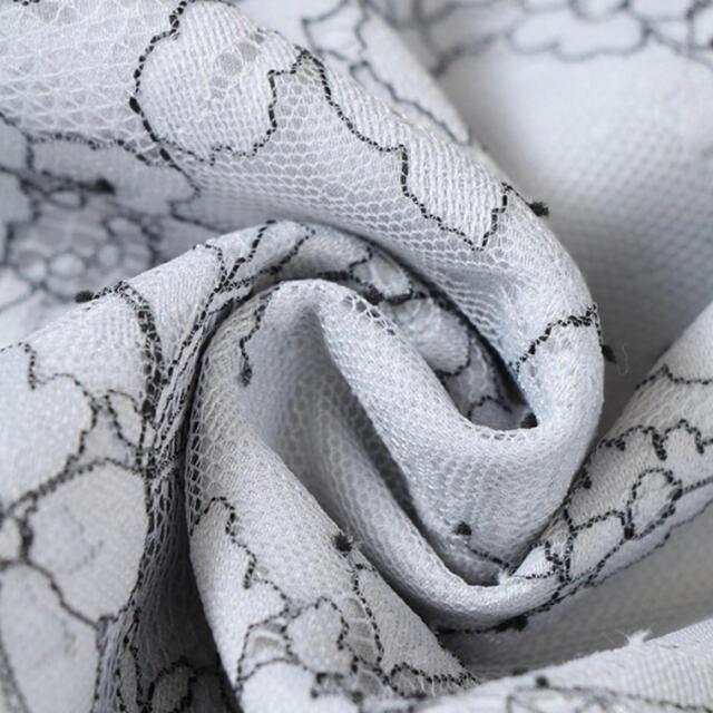 ROBE(ローブ)の【DEA. by ROBE de FLEURS/】総レース ホワイト レディースのフォーマル/ドレス(ミニドレス)の商品写真