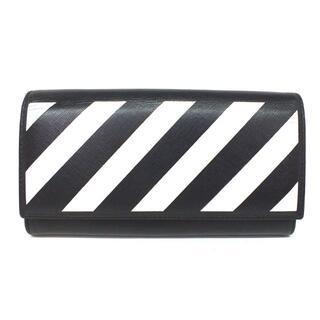 OFF-WHITE - 新品 Off-White オフホワイト ロング ウォレット 2つ折り 長財布