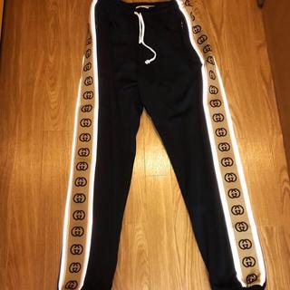 Gucci - 新作 GUCCI パンツ ルーズ テクニカル ジャージー ジョギング グッチ