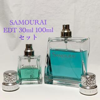 アランドロン(Alain Delon)のSAMOURAI アランドロン サムライ 100ml 30ml 香水 セット(香水(男性用))