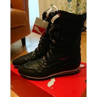 プーマ(PUMA)のプーマ PUMA 中ボア付ブーツ とても暖かい 23㎝(ブーツ)