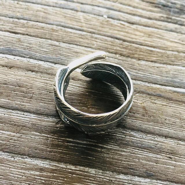 goro's(ゴローズ)のsilver925 メタル付 シルバーフェザーリング / 新品 送料込み メンズのアクセサリー(リング(指輪))の商品写真