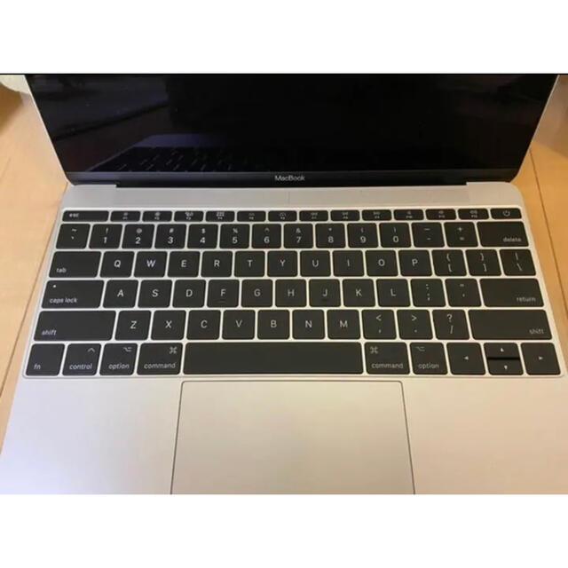Mac (Apple)(マック)のMacBook 12inch  トップケース交換済み¨̮♡キーボードほぼ新品♡ スマホ/家電/カメラのPC/タブレット(ノートPC)の商品写真