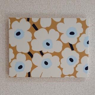 marimekko - ファブリックパネル マリメッコベージュ水色花柄