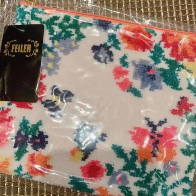 FEILER(フェイラー)の新品未開封⭐︎入手困難フェイラーチェスティコラボポーチfeilerchesty レディースのファッション小物(ポーチ)の商品写真