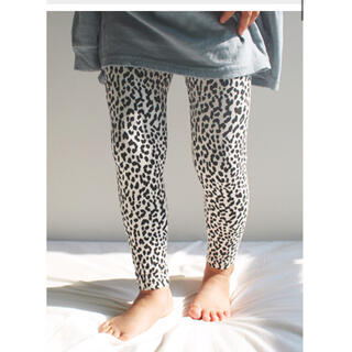 こども ビームス - monmimi leggings of leopard