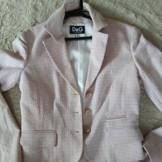 DOLCE&GABBANA - D&G ピンクのスーツ