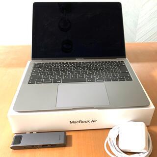 Apple - MacBook Air 2018 スペースグレイ + type-cマルチハブ