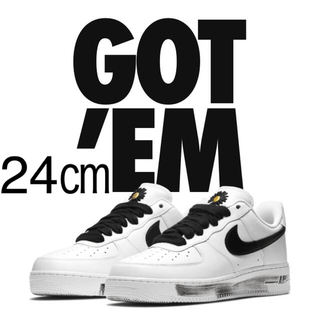 NIKE - 24㎝ NIKE AIR FORCE1 G-DRAGON PARA-NOISE