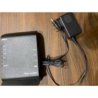 エヌイーシー(NEC)のWifi ルーター(NEC)(PC周辺機器)