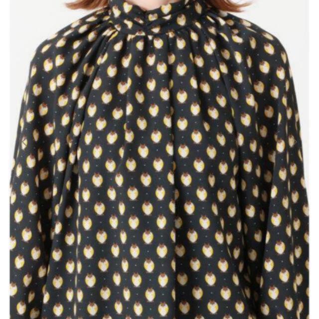 IENA(イエナ)のIENA BOUCLE 🦉プリントブラウス レディースのトップス(シャツ/ブラウス(長袖/七分))の商品写真