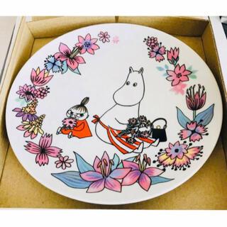 リトルミー(Little Me)のムーミン 2020年記念プレート お皿 アニバーサリー ママとミイ(食器)