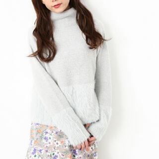 ViS - 新品タグ付☆ ビス vis ふんわりニット 可愛い ホワイト